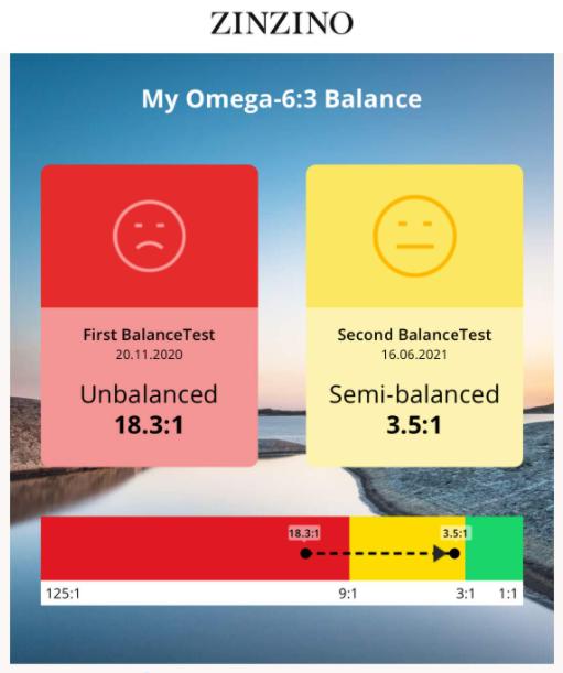 Zinzino Omega Balance